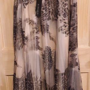 Komarov leopard skirt